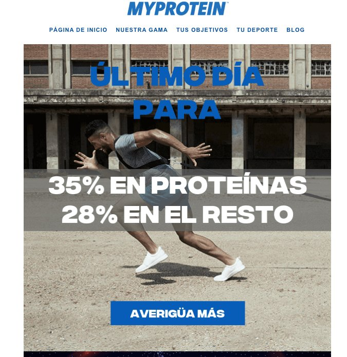 MyProtein Example of Digital Marketing SALES