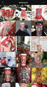 Starbucks Red Cup Art