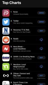 parler top 10 app store alberto lempira